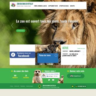 Zoo du bois d'Attilly - Rencontres intimes - l'aventure du vivant