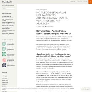 Blog en Español - Un gran sitio WordPress.com