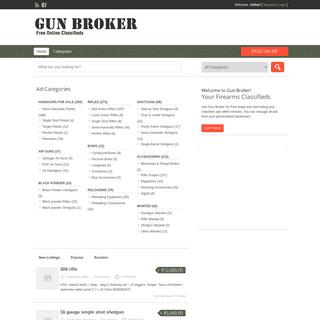 Guns - Firearms for Sale and Wanted - Gunbroker