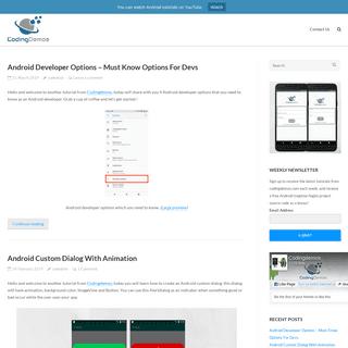 ArchiveBay.com - codingdemos.com - CodingDemos - Android Beginner Tutorials