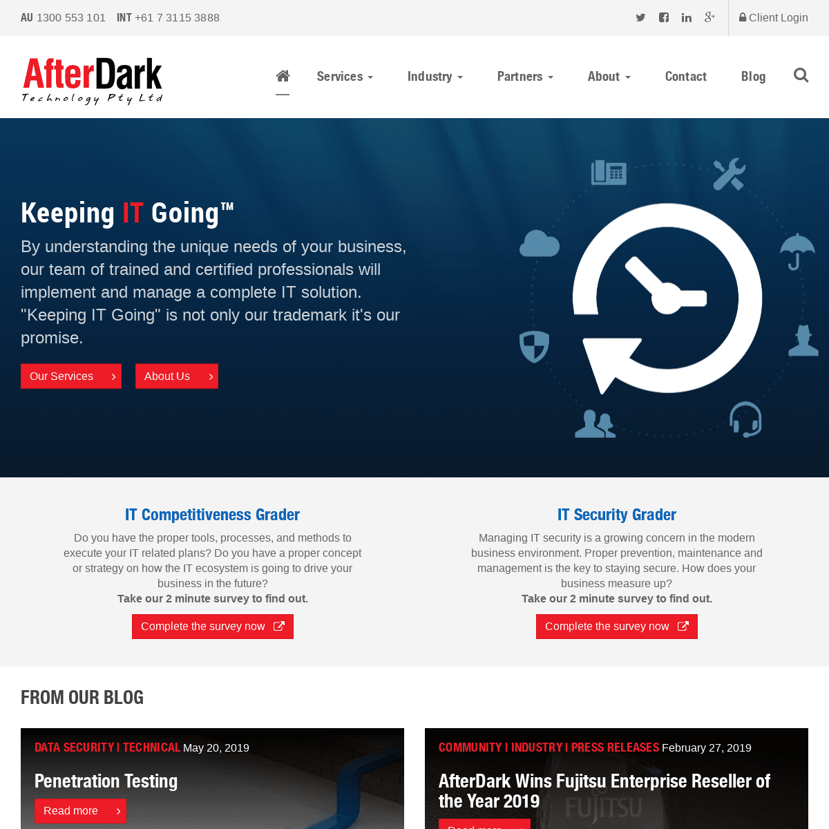Managed Service Provider - ICT - AfterDark Technology Pty Ltd