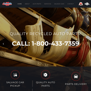 Quality Used Auto Parts, Recycled Auto Parts and Salvage Car Recycling - Cooksville Auto Recycling, Mississauga