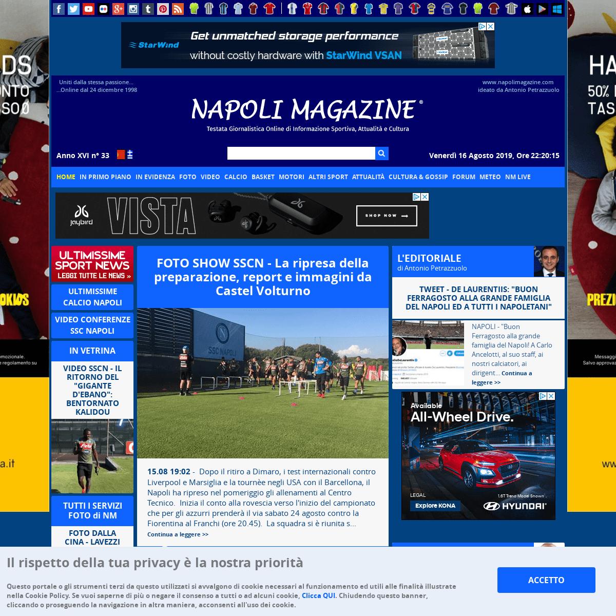 Napoli Magazine - Tutte le ultime news, notizie e aggiornamenti