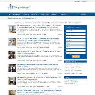 ArchiveBay.com - timnhathue.net - Cho thuê phòng trọ nhà trọ, tìm phòng trọ giá rẻ uy tín