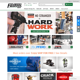 ArchiveBay.com - fastoolnow.com - Shop Construction Equipment, Tools & More at FastoolNow