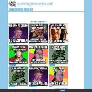 ArchiveBay.com - memegenerator.es - Meme Generator - Meme generator en Español - Crear Memes Online