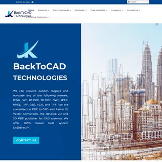 Home - BackToCAD Technologies