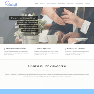 opulsoft - Business solutions made easy