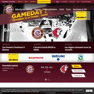 GSHC - Site officiel du Geneve-Servette Hockey Club