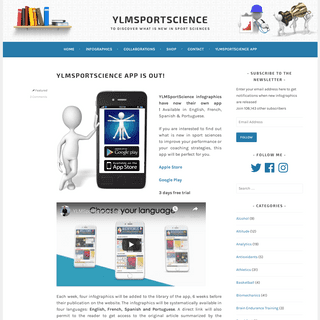 ArchiveBay.com - ylmsportscience.com - YLMSportScience – To Discover What is New in Sport Sciences