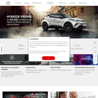 Toyota Belgium - Altijd beter, altijd verder