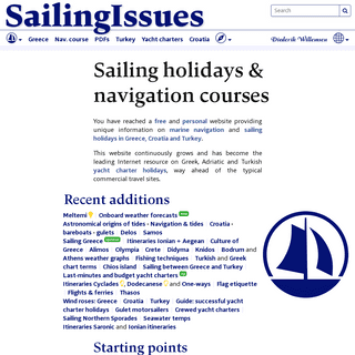 Yacht charter Greece and sailing holidays Greece and Turkey and Croatia - navigation courses - Yacht charters Greek islands and