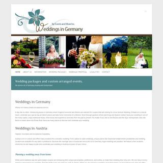 Weddings in Germany Home - Weddings in Germany