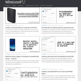 Mentecuriosa.net - Curiosidades de tecnología y tutoriales