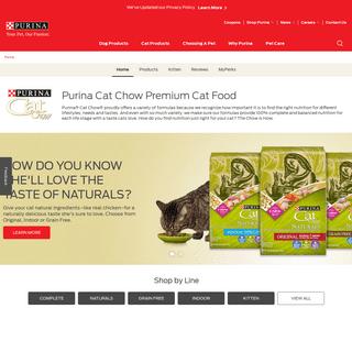 Cat Chow Premium Cat Food - Purina