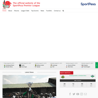 The official website of the SportPesa Premier League – For the good of our sport and nation