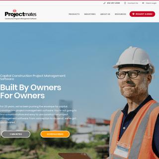 ArchiveBay.com - projectmates.com - Projectmates - Best Construction Management Software - Home