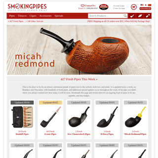 Smokingpipes.com - Tobacco Pipes - Pipe Tobacco