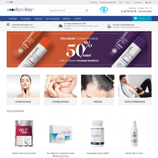 ArchiveBay.com - shytobuy.dk - ShytoBuy.dk - Find løsningen på pinlige lidelser