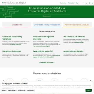 Inicio - Andalucía es Digital