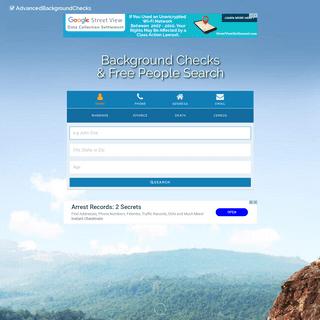 Premium Background Check - AdvancedBackgroundChecks.com