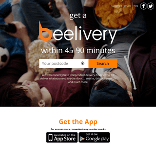 Beelivery - Same Day Grocery Delivery Within 1 Hour - Alcohol Delivery - Order Food Shopping Online