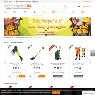 Arbeitsbedarf24 - Arbeitsbedarf, Werkzeuge, Gartenbedarf