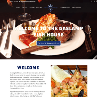 San Diego Seafood Restaurant in Downtown - Gaslamp Fish House