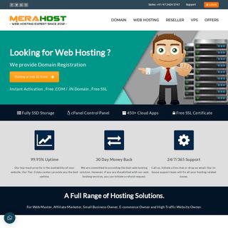 Best Quality Web Hosting - Reseller Hosting - Domain Registration in India