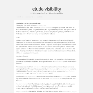 elude visibility