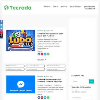 Tecrada.com - Demystifying the innovations of advanced technology.
