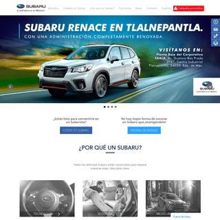 Home -- Subaru México