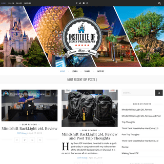Institute of Disney Photography – Learn, Share, Inspire