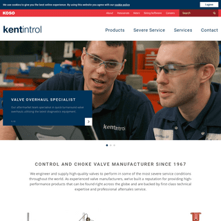 ArchiveBay.com - kentintrol.com - Industrial Valve Manufacturer UK - Kent Introl