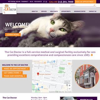 The Cat Doctor - We Speak Cat! - Philadelphia, PA