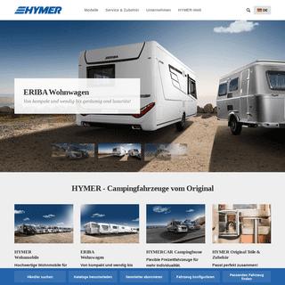 HYMER - Campingfahrzeuge vom Original