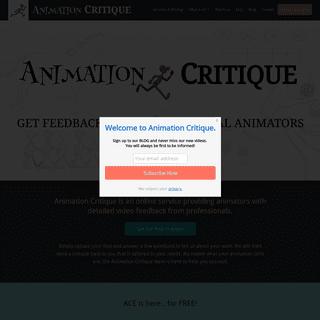 Home - Animation Critique