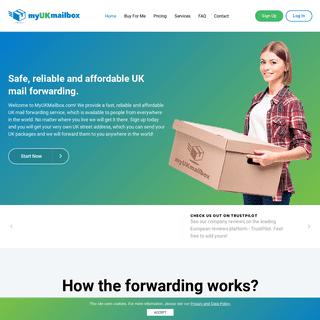 UK parcel forwarding service - UK mail forwarding