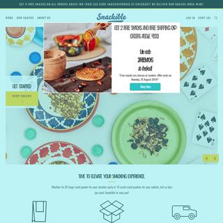 ArchiveBay.com - snackible.com - Snackible - Healthy Snacks Delivered