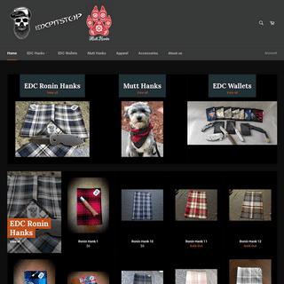ArchiveBay.com - beardedguymade.com - EDC Hanks, EDC Gym Hanks, T-shirts, and Hoodies. – EdcPitStop
