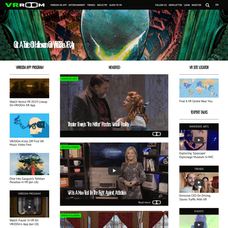 Find the best virtual realiy, augmented reality and mixed reality news, films, reviews & guides - VRrOOm, Dreams Made Real