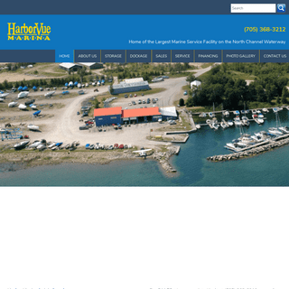 Harborvue - Home of the Largest Marine Service Facility on the North Channel Waterway