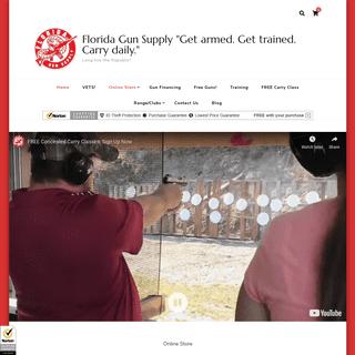 ArchiveBay.com - floridagunsupply.com - Florida Gun Supply -Get armed. Get trained. Carry daily.- – Long live the Republic!