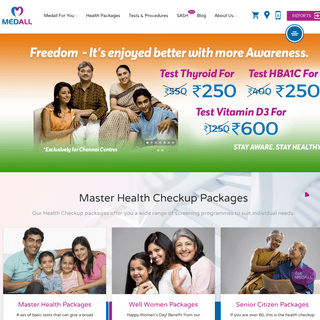 ArchiveBay.com - medall.in - Diagnostic Service Centre - Master Health Check Up Packages - Medall