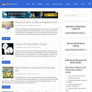 ArchiveBay.com - pokemoncoders.com - PokemonCoders - Pokemon Game Cheats, ROM Hacks and Pokemon Gaming Resources