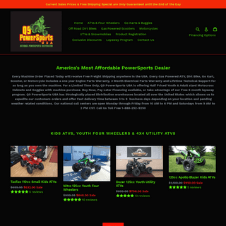 America's most Affordable PowerSports Dealer - Q9 PowerSports USA