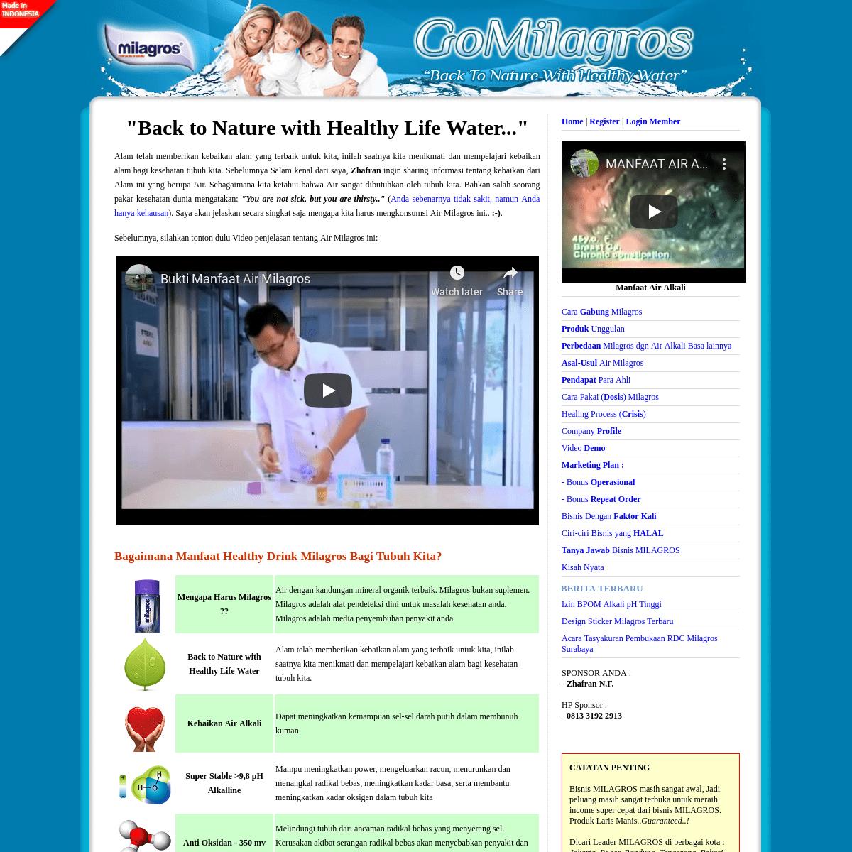 Go Milagros Network