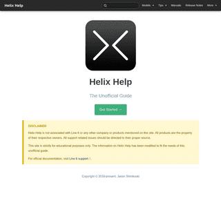 Helix Help