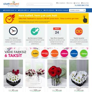 Tüm Türkiye'ye Çiçek Siparişi - Çiçek Atölyesi