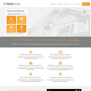 ArchiveBay.com - homegauge.com - Home Inspection Software by HomeGauge